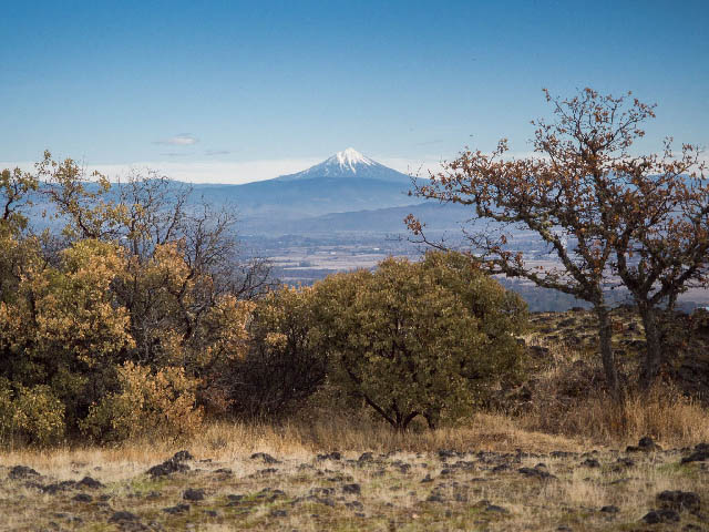 Mount McLoughlin (from Saddle Rock), Oregon